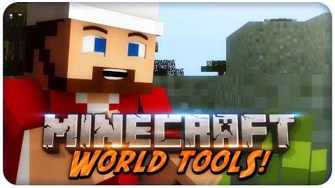 world tools minecraft mod