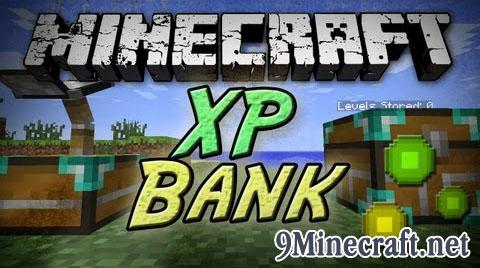 xp bank minecraft mod