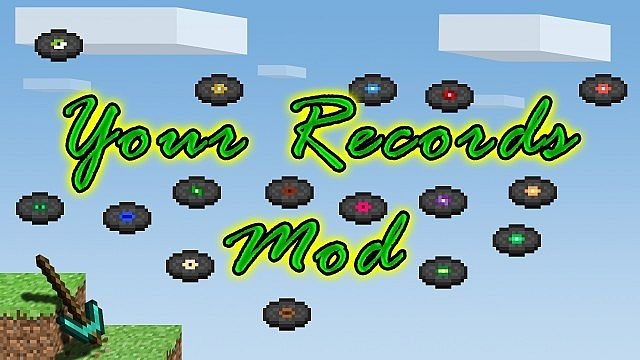 your records minecraft mod