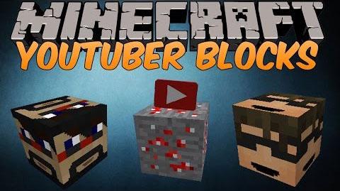 youtuber blocks minecraft mod