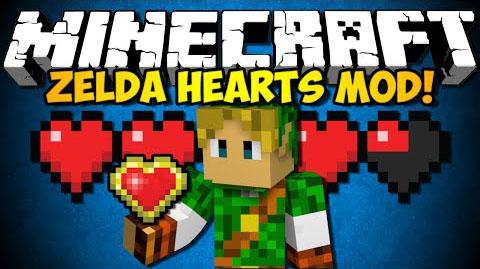 zelda hearts minecraft mod