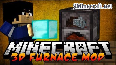 3d furnace minecraft mod