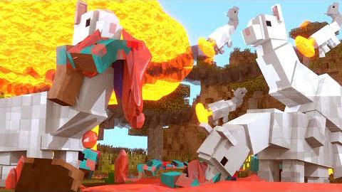 alpaca evolution minecraft mod
