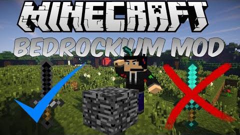 bedrockium minecraft mod