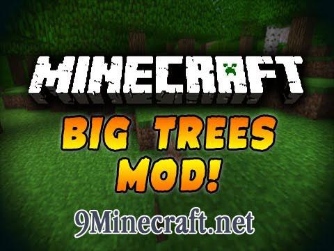 bigtrees minecraft mod