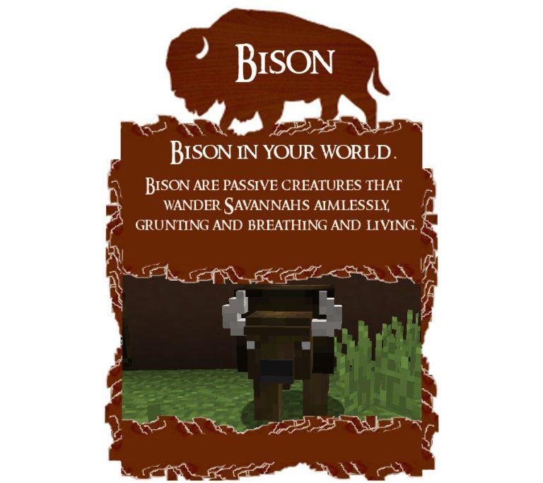 bison minecraft mod