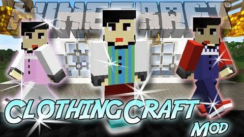 clothingcraft minecraft mod