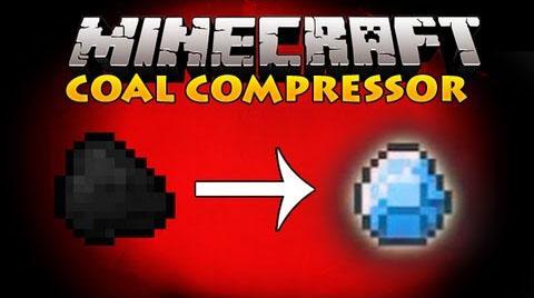 coal to diamond compressor minecraft mod