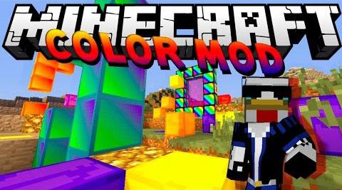 color minecraft mod