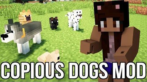 copious dogs by wolfpupkg52 minecraft mod