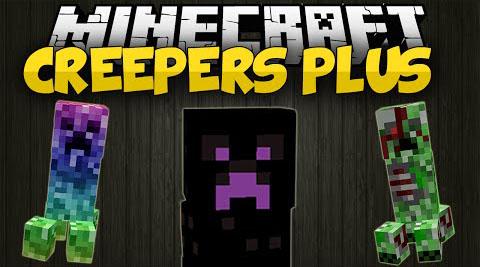 creepers plus minecraft mod