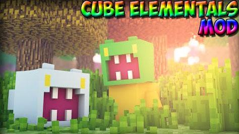 cube elementals minecraft mod