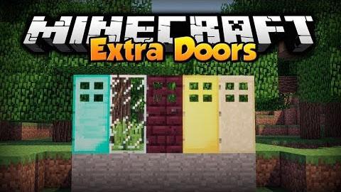 extra doors minecraft mod