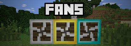 fans minecraft mod