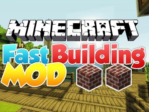 fast building minecraft mod
