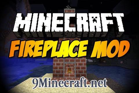 fireplace minecraft mod