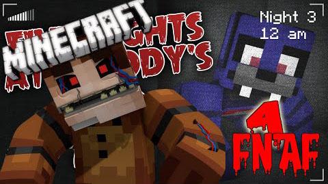 five nights at freddys by magik minecraft mod