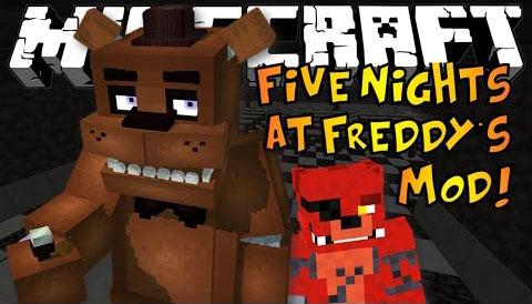 five nights at freddys minecraft mod