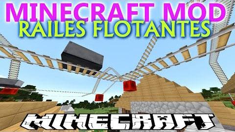 floatable rails minecraft mod