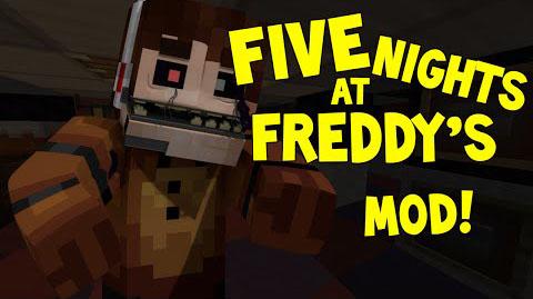 fnaf minecraft mod