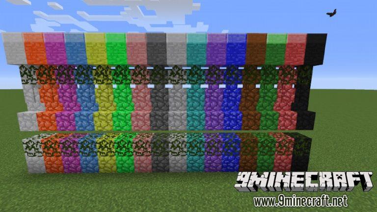 galactic colored blocks minecraft mod