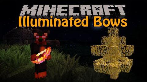 illuminated bows minecraft mod