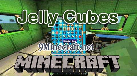 jelly cubes minecraft mod