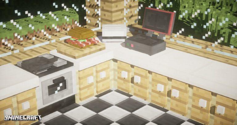 kitchen minecraft mod