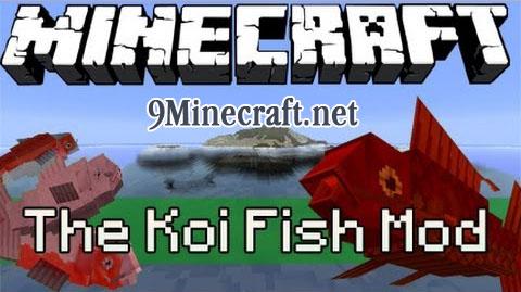 koi fish minecraft mod