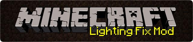 lighting fix minecraft mod