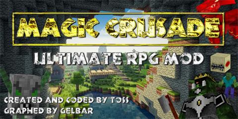 magic crusade rpg mods minecraft mod