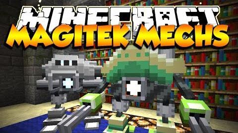 magitek mechs minecraft mod