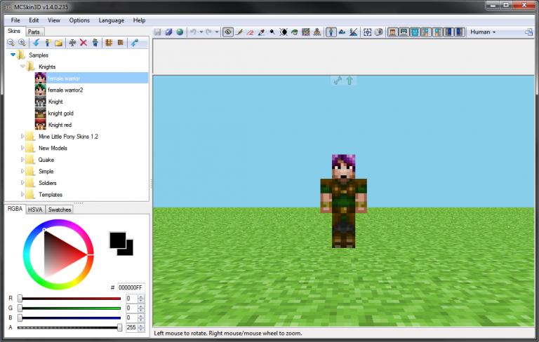 mcskin3d minecraft mod