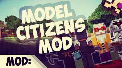 model citizens minecraft mod