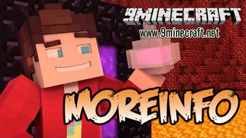 moreinfo minecraft mod