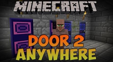 mystery doors minecraft mod