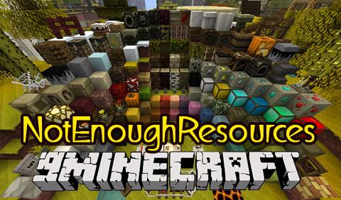 notenoughresources minecraft mod
