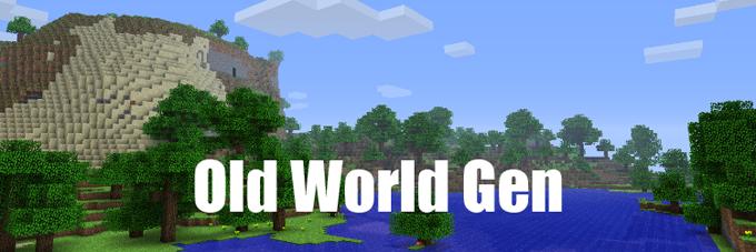old world gen minecraft mod