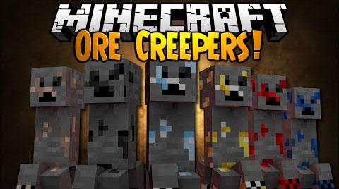 ore creepers minecraft mod