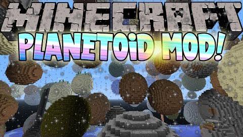 planetoid minecraft mod