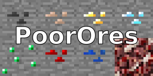poorores minecraft mod