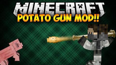 potato gun minecraft mod