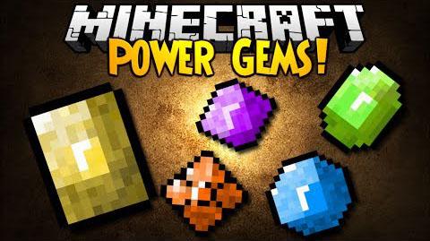 power gems minecraft mod