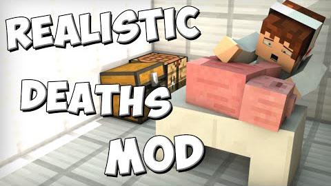 realistic deaths minecraft mod