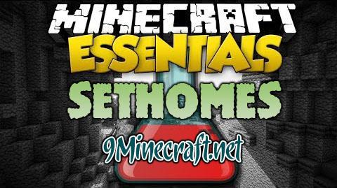 sethomes minecraft mod