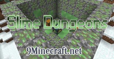 slime dungeons minecraft mod