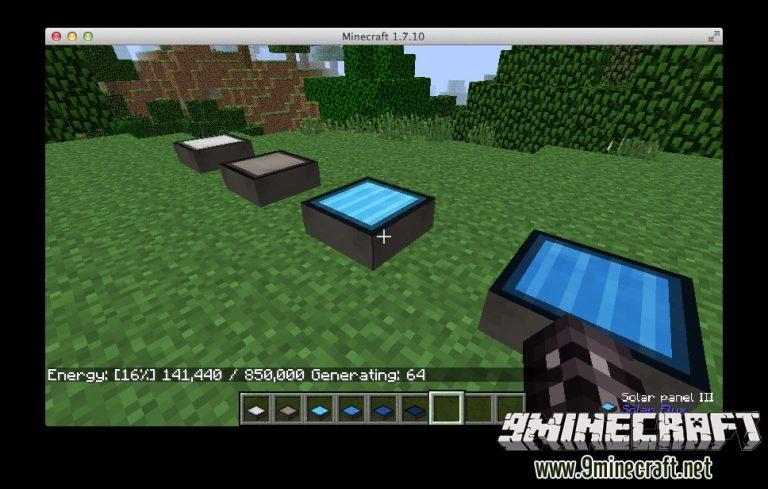 solar flux minecraft mod