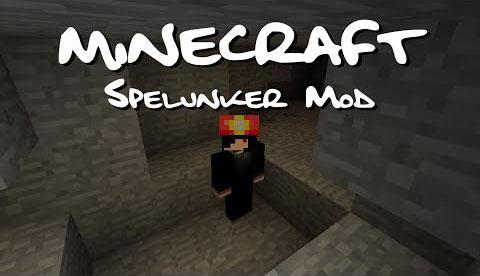 spelunker minecraft mod