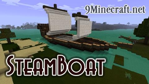 steamboat minecraft mod