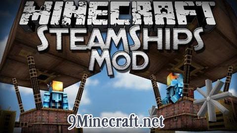 steamship minecraft mod